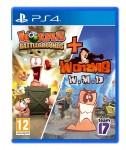 WORMS BATTLEGROUNDS + WORMS WMD PS4 PL