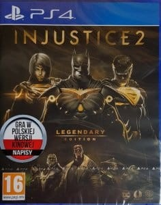 INJUSTICE 2 LEGENDARY EDITION PS4 [PL]