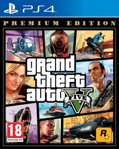 GTA 5 PREMIUM EDITION PS4 [PL]